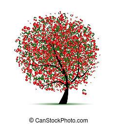 Ein Kirschbaum für dein Design
