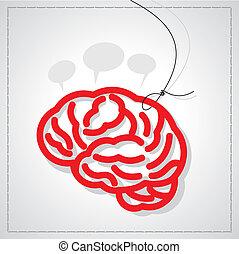 Ein kreatives Gehirn