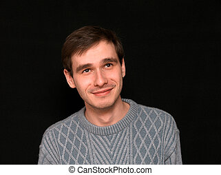 Ein lächelnder Mann
