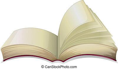 Ein leeres Buch