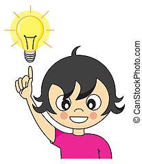 Ein Mädchen mit einer Idee