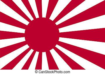 Ein Marine-Emblem aus Japan