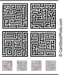 Ein Maze-Spiel.