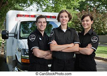 Ein medizinisches Teamfoto