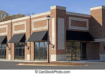 Ein neues Handelsgebäude