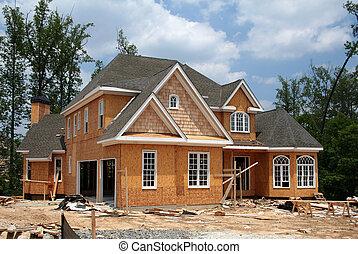 Ein neues Zuhause wird noch gebaut