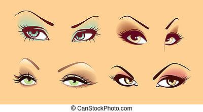 Ein paar Augen