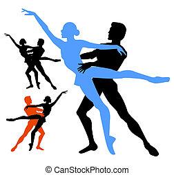 Ein paar Ballette.