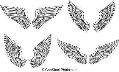Ein Paar Flügel