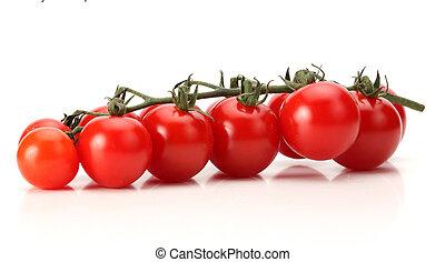 Ein paar frische Tomaten.