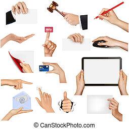 Ein paar Hände