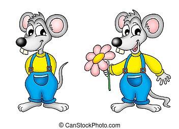 Ein Paar Mausen.