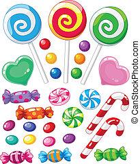 Ein paar Süßigkeiten
