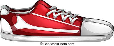 Ein Paar Schuhe.