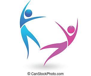 Ein paar Tanz-Logos.