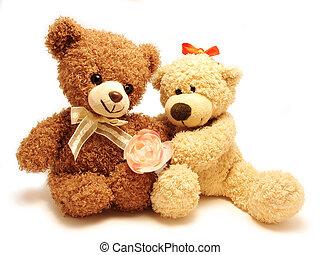 Ein paar Teddybären
