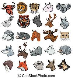 Ein paar Tiere.