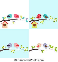 Ein paar Vögel