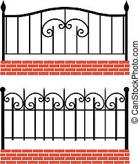 Ein riesengroßer Zaun