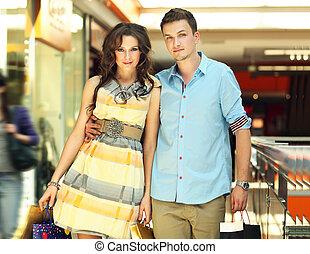 Ein schönes junges Paar