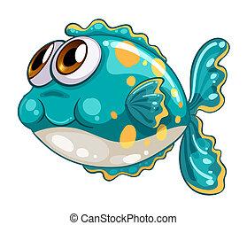 Ein Schaumfisch