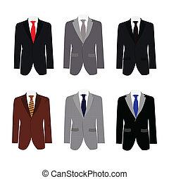 Ein sechsmal hübscher Anzug