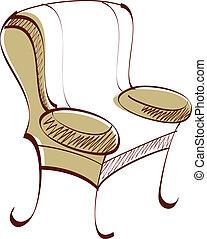 Ein Sofa.