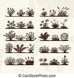 Ein Stück Pflanzen für dein Design