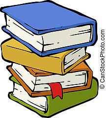 Ein Stapel Bücher