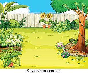 Ein wunderschöner Garten