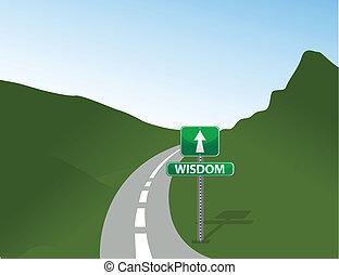Ein Zeichen der Weisheit