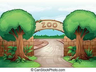 Ein Zoo.