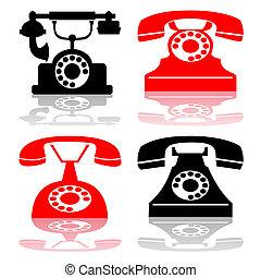 Eine antike Telefonsammlung