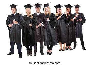 Eine Gruppe von Studenten