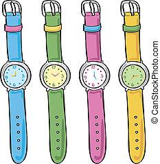 Eine hübsche Uhr
