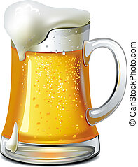 Eine Menge Bier