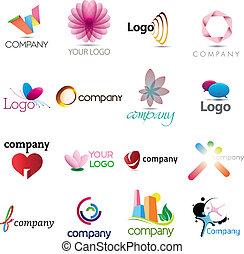 Eine reiche Logosammlung
