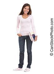 Eine Studentin