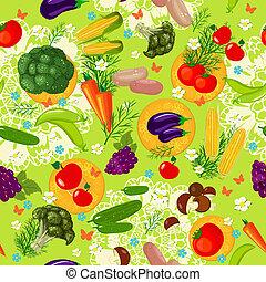 Eine vegetable, nahrlose Struktur
