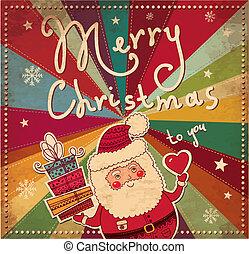 Eine Weihnachtskarte