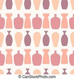 einhüllen, gewebe, tapete, seamless, schöne , gebraucht, muster, abstrakt, buechse, stoff, bunte, vektor, hintergrund, ect., sein, vases.