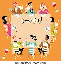 Einladung zum Abendessen