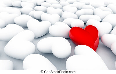 Einsames Herz
