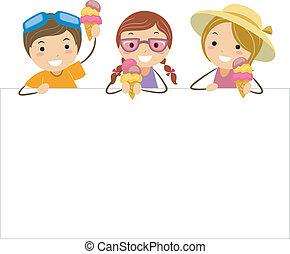 Eiscreme-Kinder