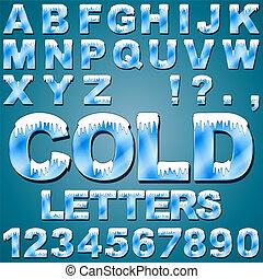 Eiskalte Buchstaben