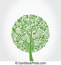 Ekologie ein Baum
