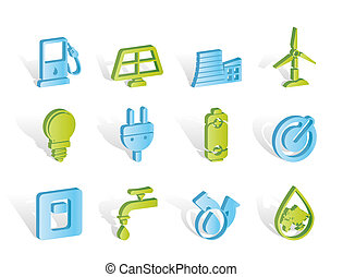 Ekologie, Energie und Energie-Ikonen