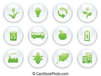 Ekologie-Icon-Set