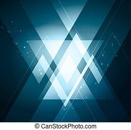 Eleganter geometrischer Hintergrund