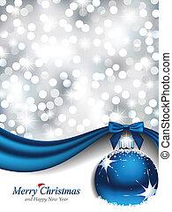 Elegantes Weihnachtsdesign.